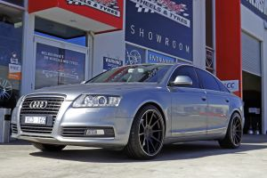 AUDI A6 WITH 20 INCH SL63 WHEELS  |  | AUDI