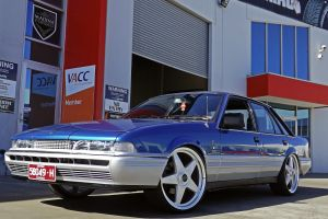 HOLDEN VL CALAIS WITH STAR WHEELS  | HOLDEN