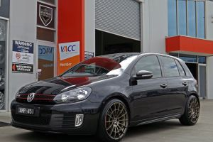 VW GOLF GTI WITH CAST 13  |  | VOLKSWAGEN