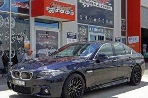 BMW 5 SERIES WITH ZITO WHEELS  |  | BMW