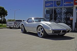 CORVETTE STINGRAY WITH MADINA TRACK II  |  | HOLDEN