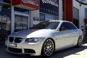 BMW 3 SERIES WITH HR-COMP WHEELS   |  | BMW