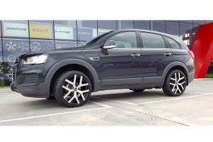 Holden Captiva with 20x8.5 G8 II Black Machined |  | Holden