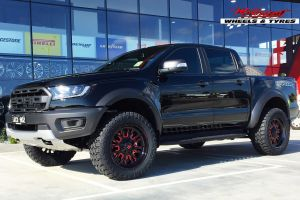 FORD RAPTOR WITH 20X9 FUEL STROKE WHEELS |  | FORD