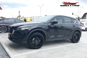 MAZDA CX5 WITH 20 INCH H585 WHEELS |  | MAZDA
