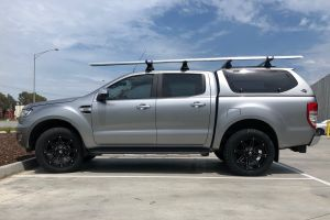 FORD RANGER WITH 20X9 BLADE SERIES V WHEELS | FORD