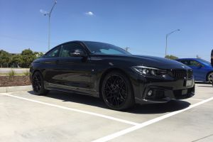 BMW 4 SERIES WITH 19 INCH B-M4LACE WHEELS |  | BMW