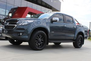 HOLDEN COLORADO WITH 20X9 FUEL SLEDGE WHEELS |  | HOLDEN
