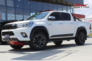 TOYOTA HILUX WITH 18X9 FUEL VAPOR WHEELS |  | TOYOTA