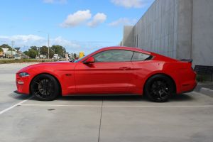FORD MUSTANG WITH 20 INCH KOYA SF06 WHEELS |  | FORD