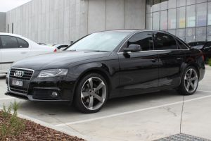 AUDI A4 WITH 19 INCH TTRS WHEELS |  | AUDI