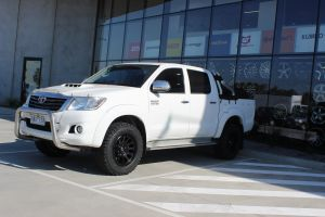 TOYOTA HILUX WITH 17X8.5 FUEL VECTOR WHEELS |  | TOYOTA