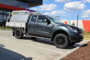 FORD RANGER WITH 17X8 CSA RAPTOR WHEELS |  | FORD