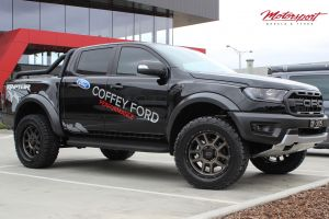 FORD RAPTOR WITH 20X9 KMC DELTA WHEELS |  | FORD