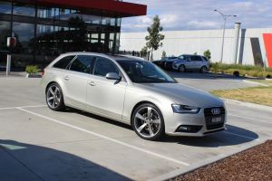 AUDI A4 WITH 19x8.5 TTRS WHEELS |  | AUDI