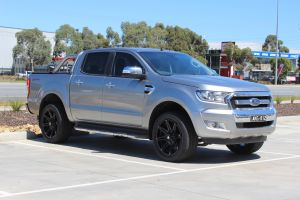 FORD RANGER WITH 20X9 MATT BLACK BLADE SERIES V WHEELS | FORD