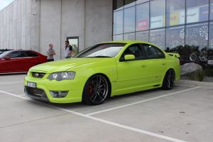 FORD BF FPV WITH 20 INCH NICHE VOSSO WHEELS |  | FORD