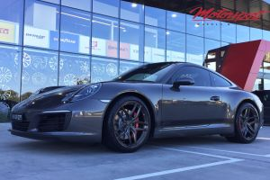 PORSCHE 921 CARRERA S WITH 20 INCH BC MONOBLOCK WHEELS |  | PORSCHE