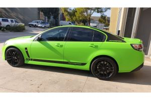 HOLDEN COMMODORE VF WITH 20 INCH NICHE VOSSO WHEELS |  | HOLDEN
