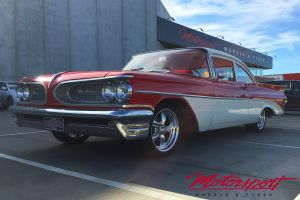 Pontiac Strato Chief 1959 with 17 Inch American Racing TORQ THRUST II Wheels |  | Pontiac Strato Chief 1959 with 17 Inch American Racing TORQ THRUST II Wheels