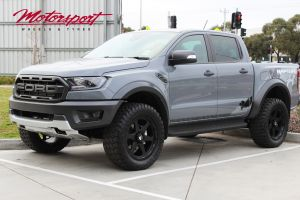 FORD RAPTOR WITH 20X9 BLADE RAPTOR WHEELS | FORD