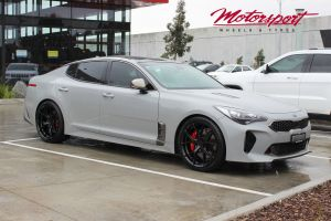 KIA STINGER WITH 20 INCH KOYA SF10 WHEELS |  | KIA