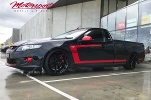FORD FG UTE WITH  20 INCH NICHE DFS WHEELS | FORD