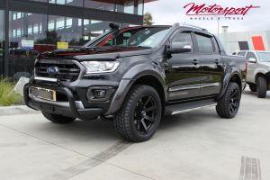 FORD RANGER WILDTRAK WITH 20X9 BLADE SERIES FINKE WHEELS | FORD