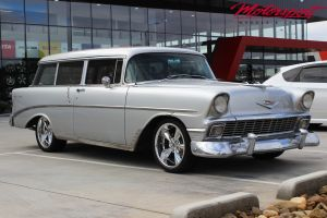 1956 CHEVY 210 WITH 18X8 STREETER WHEELS |  | CHEVY
