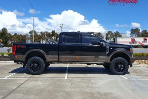 FORD F350 KINGRANCH WITH 20X9 FUEL VAPOR WHEELS |  | FORD