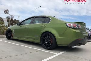 HOLDEN VF WITH 20 INCH ZITO ZF03 WHEELS |  | HOLDEN