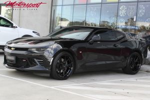 Chevrolet Camaro with 22 inch KOYA SF10 Wheels |  | Chev