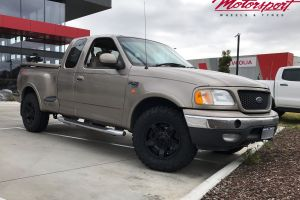 FORD F150 (2002) WITH 17X8 KMC ROCKSTAR XD2 WHEELS |  | FORD