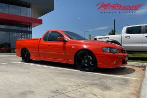 Ford Falcon XR8 Ute with 20 inch Hussla Zane Wheels |  | Ford Falcon XR8 Ute with 20 inch Hussla Zane Wheels
