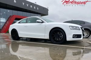 AUDI A5 WITH 20X9 A5-01 WHEELS |  | AUDI