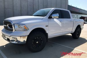RAM 1500 WITH 17X9 HUSSLA AMBUSH WHEELS |  | RAM