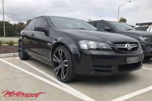 HOLDEN COMMODORE VE WITH 20 INCH B-614 WHEELS |  | HOLDEN