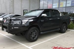 Toyota Hilux with 20X9 Fuel Rebel Wheels |  | Toyota