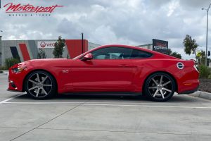 Ford Mustang with 20 inch Niche Verona Wheels |  | Ford