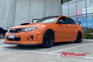 Subaru WRX 2012 with 18X8 Hussla Zen Wheels  |  | Subaru